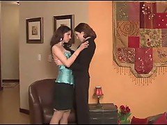 Belle Kisses The Escort