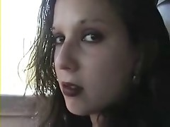 amateur goth girl fucked in a car