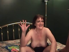Mature Treats a Little Cock