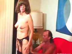 Mature amateur granny hardcore fucking and oral cumshots