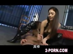 kinky jap girl do nice blowjob and creampie fuck