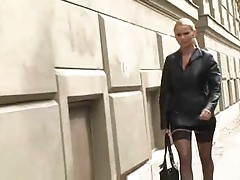 Hot Blonde Euro MILF Winnie Bangs Student