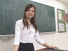 Supercute Rui Saotome fucked in school 1