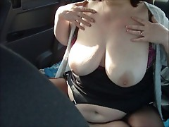 Masturbation in the car