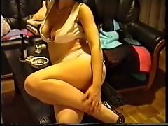SAG - White Lace Mini Skirt Zip-Bustier Big Tits 4o4