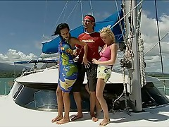 Threesome on the High Seas