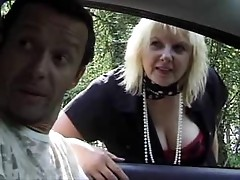 French Mature Gets Anal in The Woods