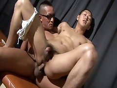 Asian sports handsome guy