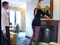 A Slut get spanked by her bodyguard