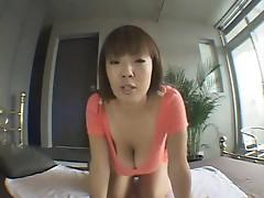 Asian Hitomi Strip Tease