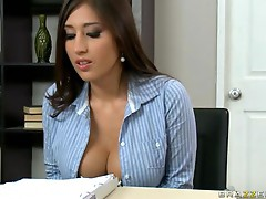 Brazzers Big Tits at Work Alexis Breeze in Perky Perks