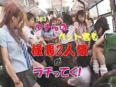 Luckiest guy ever - Japanese Schoolbus